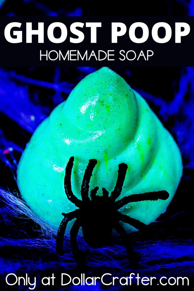 Glow in the Dark Ghost Poop Soap