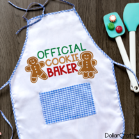 Official Cookie Baker SVG Cut File Set for Cricut or Silhouette