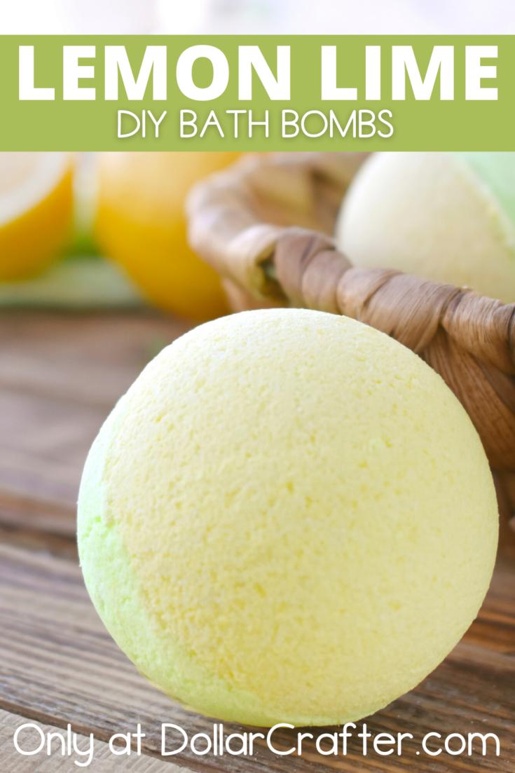 Lemon Lime Bath Bombs