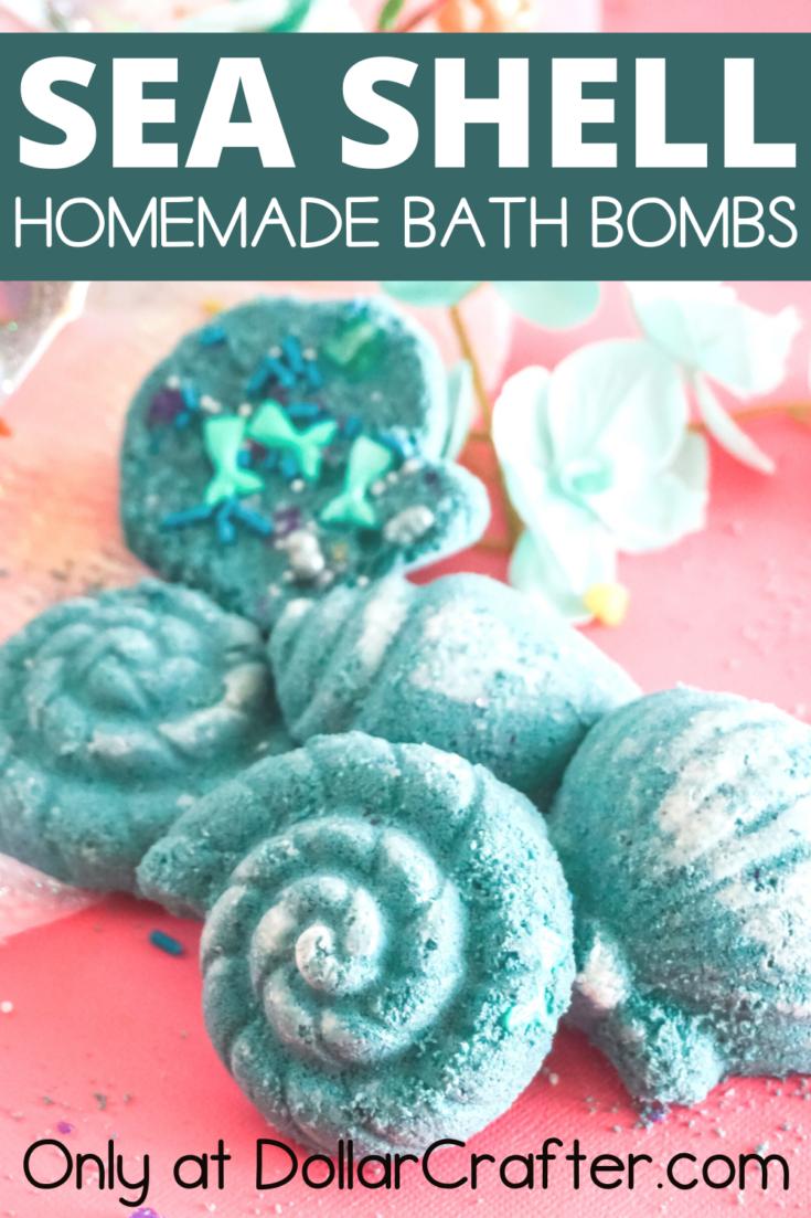 Mermaid Seashell Bath Bombs