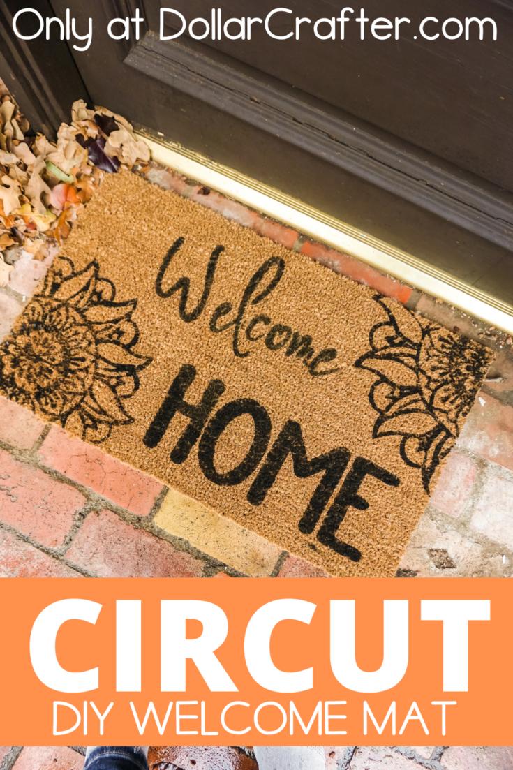 Cricut Welcome Mat