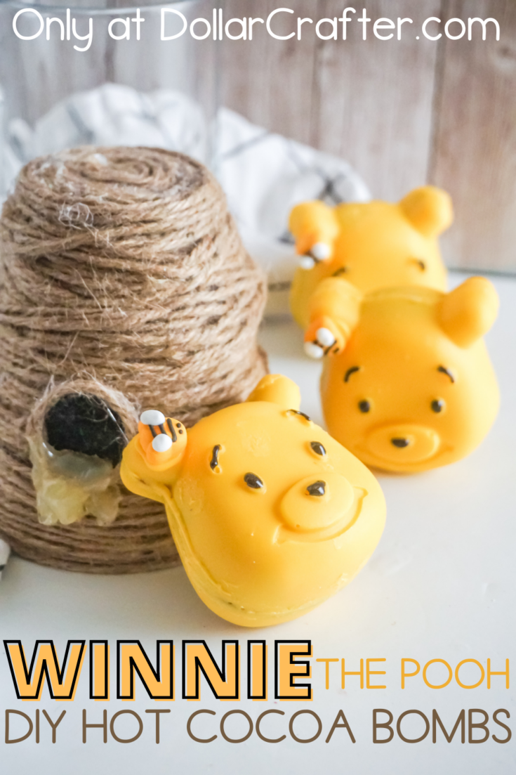 Winnie the Pooh Hot Cocoa Bombs