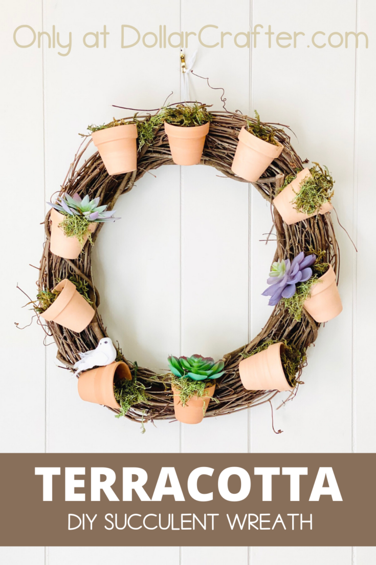 Terracotta Succulent Wreath