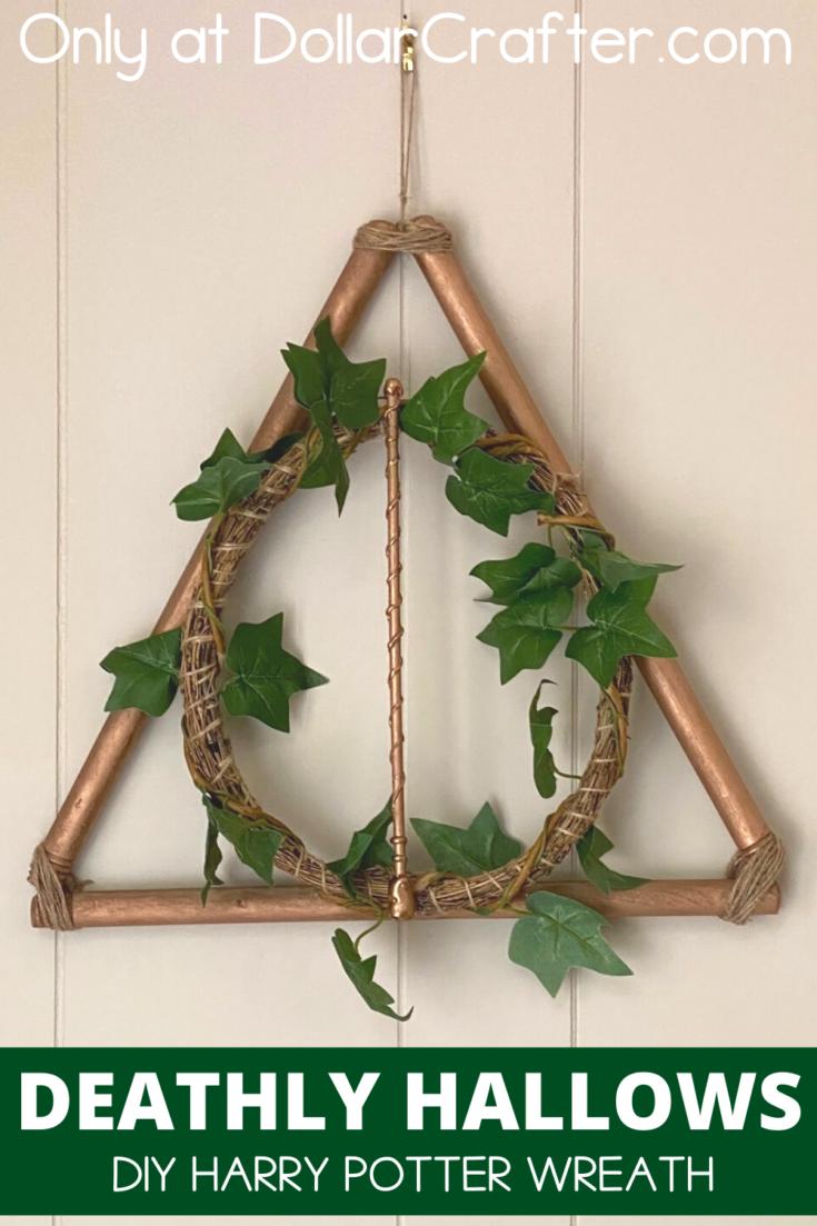 Harry Potter Deathly Hallows Wreath