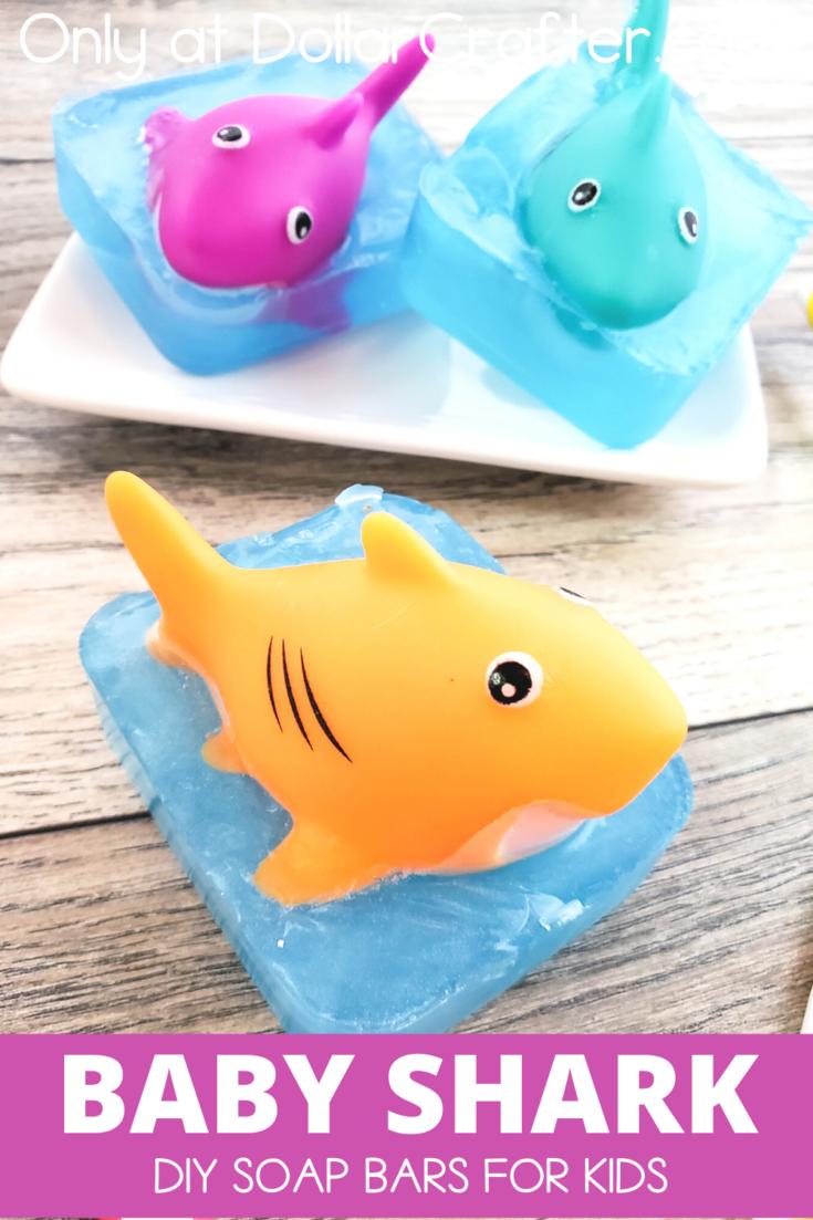 Baby Shark Soap Bars for Kids