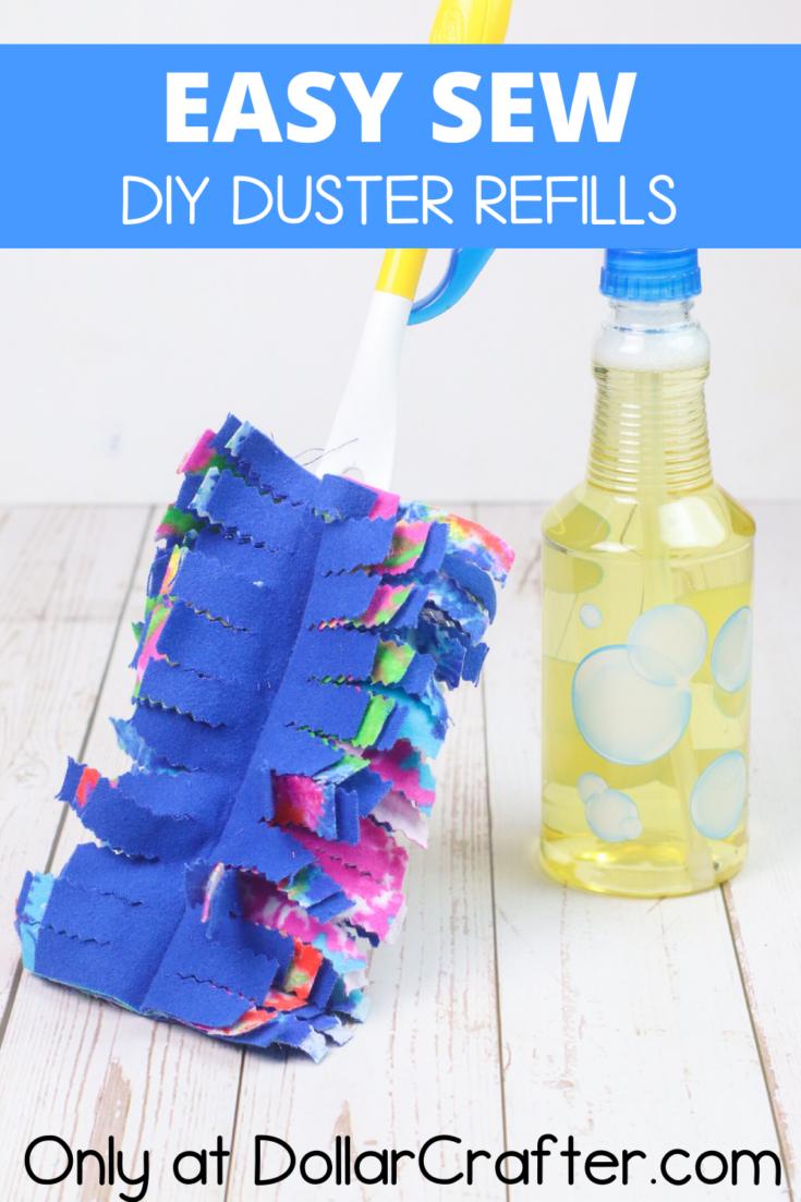 DIY Swiffer Duster Refills
