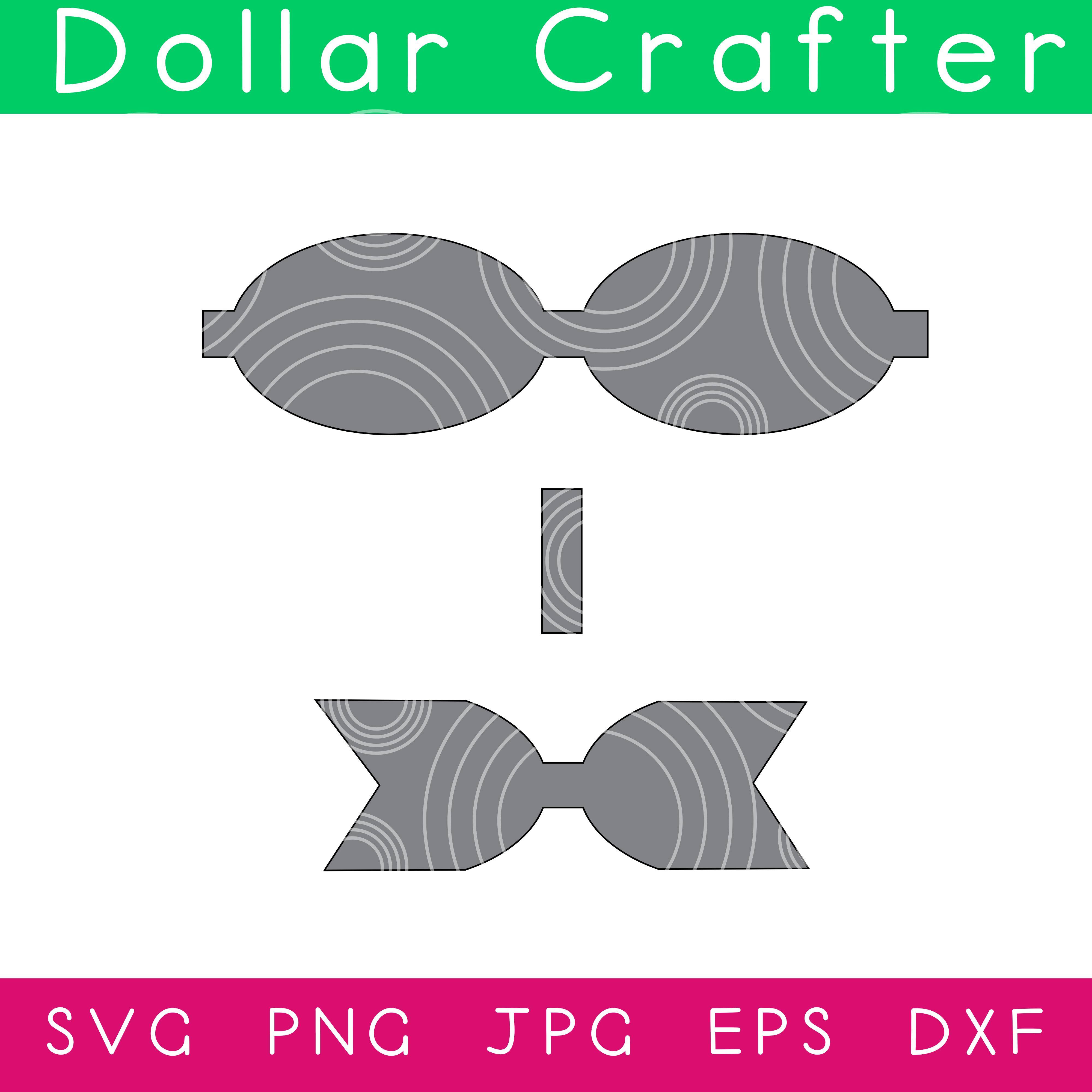 Hair Bow SVG Cut File Set for Cricut or Silhouette