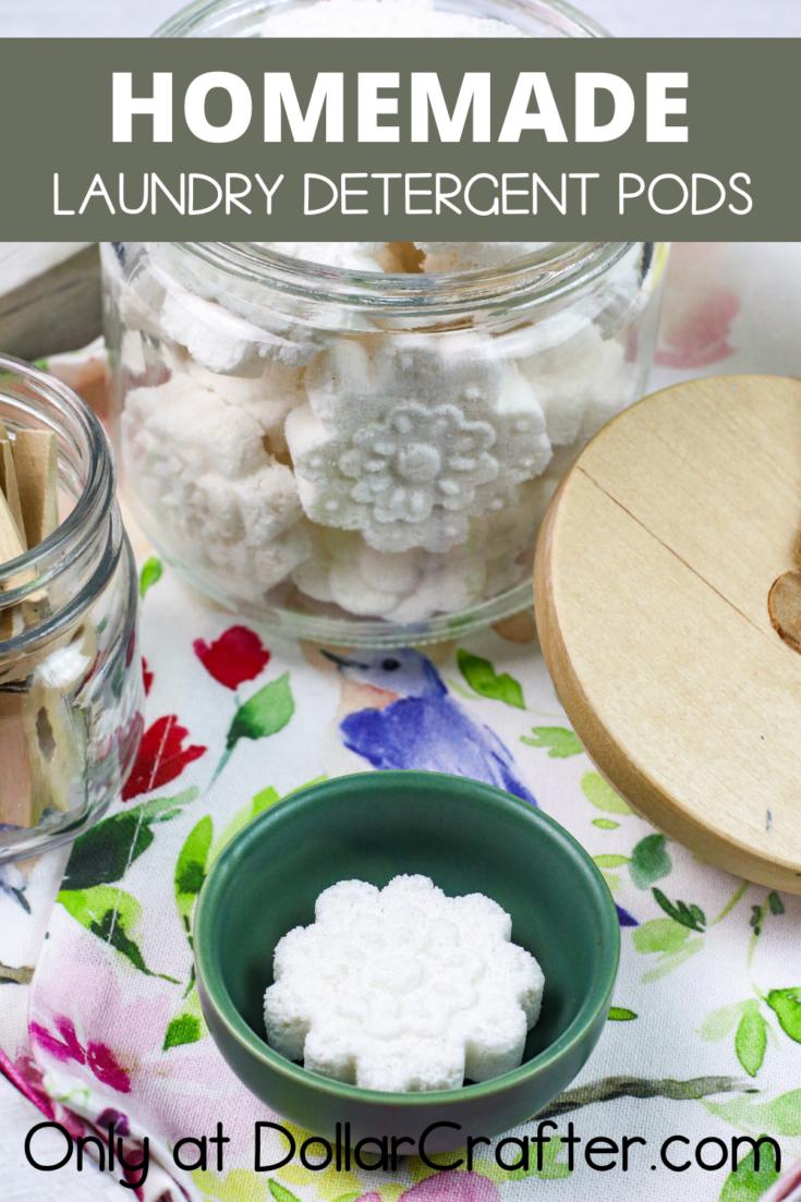 homemade laundry detergent pods