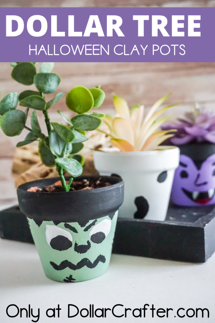 Halloween Terracotta Flower Pots